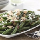 Green Beans with Warm Dijon Vinaigrette - The Warm Dijon Vinaigrette transforms simple green beans into beans fit for company!