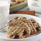 Peanut Butter Oatmeal Cookies from Mazola(R) - Great for packing in a lunch.