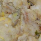 Potato Filling - This Dutch potato filling can be used as a side dish or a stuffing for turkey or chicken. To use for stuffing, increase bread to 6 slices and add 2 beaten eggs.