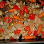 Herb Roasted Vegetables - This recipe recommends a convection oven, but we think that a regular oven will work if you increase the cooking time. Regardless, this is a lovely recipe. Baby carrots, new potatoes and eggplant are tossed in fresh and dried herbs and drizzled with olive oil.