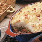 Scot's Au Gratin Shepherd's Pie - A combination of au gratin and shepherd's pie takes meat and potatoes to a whole new level.