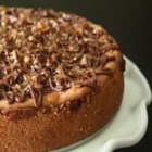 Turtle Cheesecake - Pecans, caramel and chocolate all wrapped up in a decadent cheesecake batter, what could be better?