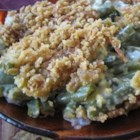 Grandma's Green Bean Casserole - Easy, creamy green bean casserole that doesn't use canned soup. Make it for Thanksgiving or any festive family dinner.