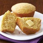 Honey Cornbread Muffins - Honey and a hint of cinnamon add sweetness and spice to these cornbread muffins, and sour cream makes them  tender and moist.