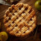 Spiced Pear & Apple Pie - Autumn pears and apples with cinnamon and ginger make a delicious holiday pie.