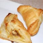 Wild Mushroom Puff Pastry - Puff pastry triangles with a savory wild mushroom and cheese filling make an elegant and easy appetizer.  If you love mushrooms, this is your recipe.