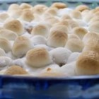 Sweet Potato Casserole II - Mmmmmm! Sweet potatoes topped with creamy marshmallows.