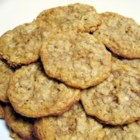 Oatmeal Toffee Cookies - Oatmeal cookies full of chocolate covered toffee bits. A blue ribbon winner.