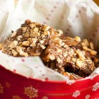 Easy Cashew Sea Salt Toffee - Cashews and milk chocolate toffee are easy using this quick microwave method.