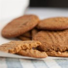 Nada Peanut Butter Cookies - Gluten-free peanut butter cookies use agave nectar and just a few other ingredients to bring out the peanut butter flavor.