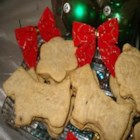 Best Friend Doggie Biscuits - These rolled, cut-out cookies for pooches feature a healthful, crunchy blend of cornmeal, all-purpose flour, chicken stock, an egg, and chopped parsley.