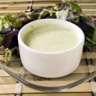 Green Goddess Dressing III - Tarragon vinegar, green onions, fresh parsley, and anchovies flavor this creamy dressing.