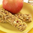 Applesauce Energy Bars - These bars are great for an added boost of energy when you are on-the-go or a quick breakfast to start the day.
