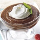 Chocolate Applesauce Pudding - This pudding combines the sweetness of chocolate with the delicious flavor of applesauce for a chilled treat that will have everyone scraping their bowl!
