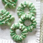 Holiday Spritz Cookies - These classic holiday cookies made with a cookie press are everybody's favorite, both to decorate and to eat.