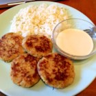Spicy Tuna Fish Cakes - Mashed potato is used as a binder in these tasty, lightly crisp tuna patties.