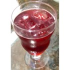 Cherry Fizz - A tangy, fizzy sipper made with cherry juice and ginger ale.