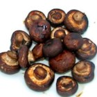 Deb's Spicy Summer Evening Mushrooms - Whole mushrooms are marinated in a lightly spiced soy sauce and red wine vinegar mixture, then grilled until brown, tender and delicious.