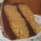 David's Yellow Cake - A moist yellow cake made from scratch.