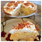 Coconut Cream Pie - A rich and smooth coconut custard pie. Top with whipped cream and toasted coconut, if desired.