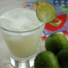 Brazilian Lemonade - This recipe for 'lemonade' actually uses limes and has the additional sweetness of sweetened condensed milk. Best served immediately.
