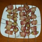 Grilled Pheasant Poppers - Here's a great way to use and even enjoy the pheasant the outdoorsmen in your life brings home! This appetizer creates a spicy, crisp and delicious mouthful sure to fool anyone who would wrinkle up their nose to pheasant! This  has quickly become my number 1 requested appetizer by friends and family. So simple and so darn good!