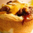 Grands!(R) Cheesy BBQ Cups - Grands!(R) biscuits make great cups for these barbecue treats!