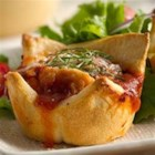 Parmesan Chicken Mini Pies - Italian-flavored mini pies made easy with frozen chicken bites.
