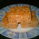 Peanut Butter Crispies II - My aunt used to make these when I was a little girl.  I think they are a nice change from marshmallow treats.