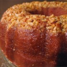 Golden Rum Cake - My family requests this rummy Bundt cake from me at all our get-togethers. The butter rum glaze makes it special. An easy way to glaze your cake is to pour half of the glaze into Bundt pan, reinsert cake, then pour the rest of glaze over the bottom of the cake. Let absorb well then invert back onto platter.