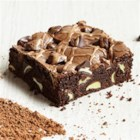 Mocha Brownies with Mint Filled DelightFulls(TM) - If a mint mocha sounds like something you'd order at your next coffee stop, just wait until you try the brownie version. Start with a mocha-based brownie batter, add Mint Filled DelightFulls(TM) and you'll have a chocolaty java treat that will perk everyone up.