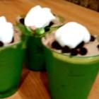 Chocolate Pudding Shots - Want a creamy, chocolate-y alternative to jello shots? Of course you do! Try these, with chocolate pudding mix, milk, vodka, and Irish cream liqueur.