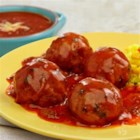 Meatballs in Chipotle Sauce - Perfectly seasoned meatballs are sautéed and then simmered in a scrumptious sauce made with tomato, chipotle & olive oil soup and water. These meatballs are so good you will definitely file this recipe under 'favorites'! Give them a try--your family will be glad you did!