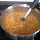 Manhattan Clam Chowder II - A real easy and tasty Manhattan Clam Chowder.