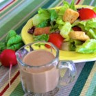 Creamy Balsamic Vinaigrette - This homemade salad dressing is so quick, easy, and versatile, you may never purchase bottled dressing again.