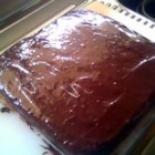 Eggless Chocolate Cake I
