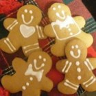Gingerbread Cookies - This is a very tasty Christmas dessert. This recipe is very nice for Christmas parties as it makes 2 1/2 dozen 2 1/2 inch cookies.