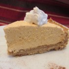 Whipped Pumpkin Pie - With all the flavor of a traditional pumpkin pie, this whipped pumpkin pie boasts a lighter texture and a graham cracker crust.