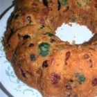 Apricot Fruitcake - This is another great fruitcake for the holidays. Originally submitted to CakeRecipe.com. Pecans can be substituted for walnuts.