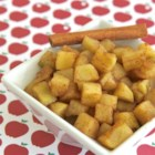 Cinnamon Apples - Warm cinnamon apples are quick and easy to prepare in the microwave and make a sweet side dish for chilly autumn nights.