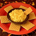Whipped Pumpkin Dip - This easy 5-ingredient pumpkin dip recipe includes cream cheese, pumpkin puree, and pumpkin pie spice for a festive fall appetizer.