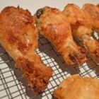 Oven Fried Chicken II - Less messy than pan frying, this version features Italian seasoning for extra taste.