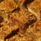 Pecan Pie Bars II - If you like pecan pie, you'll love this easy bar cookie recipe for bars made with pecans and brown sugar.