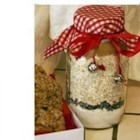 Oatmeal Cookie Mix In a Jar - This is a recipe for oatmeal cookie mix that can be stored in the refrigerater in an airtight container for up to 10 weeks.  With it are instructions for baking the cookies, now or later!
