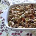 Apple Nut Stuffing - A fruity stuffing that can be used to stuff turkey, chicken, or pork with fabulous results.
