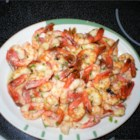 Shrimp Scampi IV - Here's a recipe that I have made several times for our family. Set your broiler and watch the shrimp closely. The shrimp is done when it turns pink. Do not overcook! Serve with baked potato and salad.