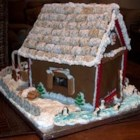 Building Gingerbread - Every Christmas I design a new pattern and make a gingerbread house for the holidays.  The kids love to help decorate.
