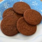 Eggless Ginger Cookies