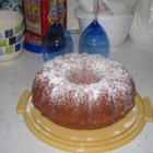 Seven-Up(TM) Cake II - Bundt cake made with 7UP(TM)  soft drink.