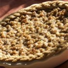 Walnut Pumpkin Pie - A slight twist on the traditional pumpkin pie.